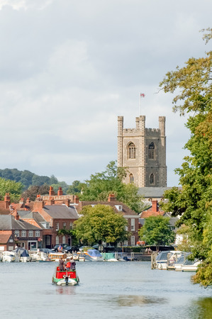 picturesque henleyonthames in england Stock Photo
