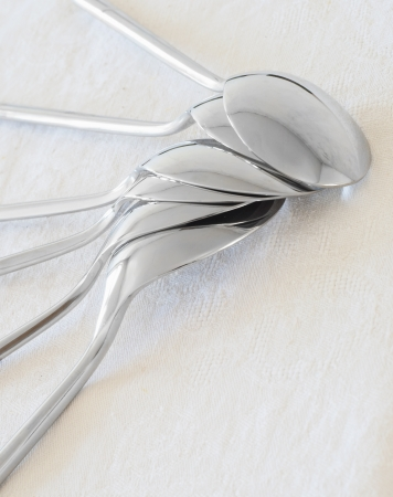 Composition of spoon photo