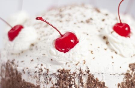 cherry cake photo