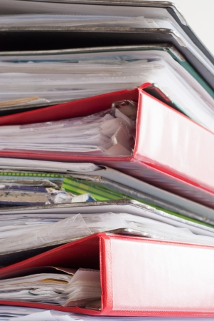 Towering stack of paperwork Stock Photo - 14618884
