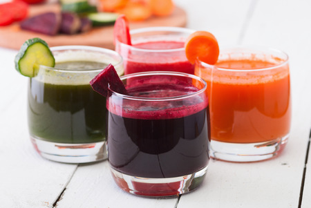 Vegetable juice (carrot, beet, cucumber, tomato)