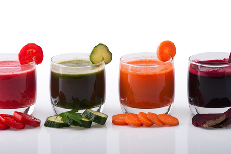 Vegetable juice  photo
