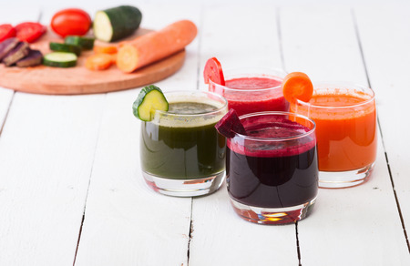Vegetable juice (carrot, beet, cucumber, tomato)