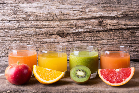 multivitamin: Juice with fruits ( kiwi , grapefruit , apple & orange )