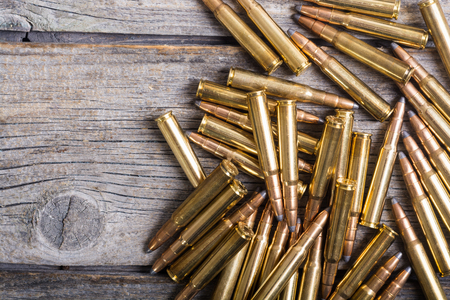 Bullets . Gun cartridge 8mm caliber background