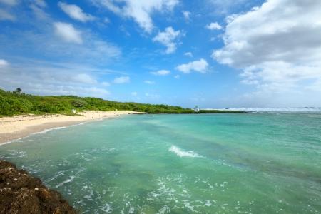 guam: Beach of southern Guam Stock Photo