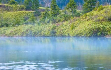 specifiche: Prefettura di Gunma, Kusatsu Shirane piscina arco vulcano verso le specifiche complete in sub-