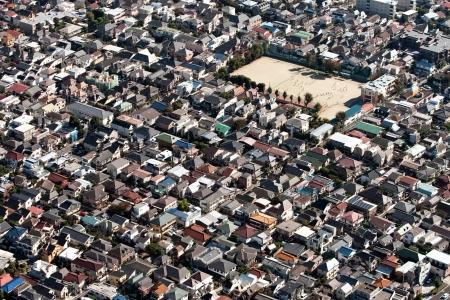 summarized: Tokyo Full Street empty summarized in residential street empty