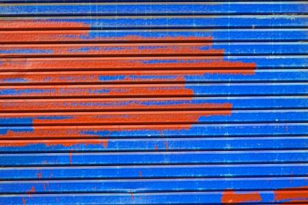 baileys: Shutter of paint in Stock Photo