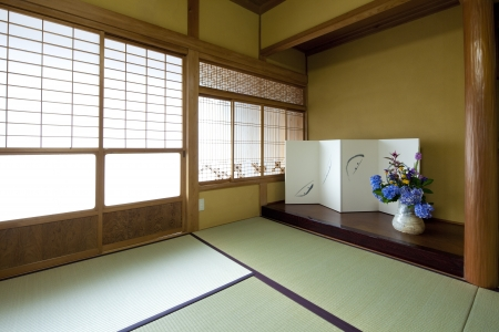 Japanese-style alcove photo