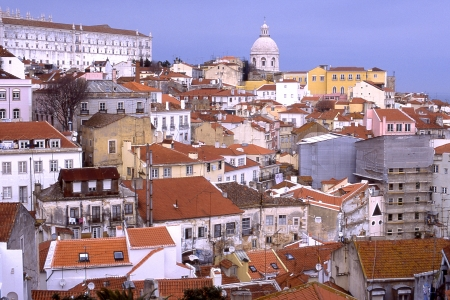 rooftile:  views of Lisbon