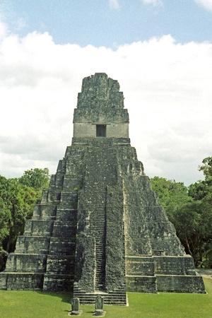 itinerant: Tikal Stock Photo