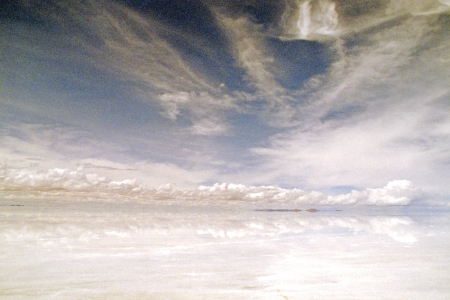 itinerant: Uyuni salt lake