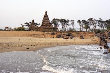 itinerant: Shore temple of Mahabalipuram