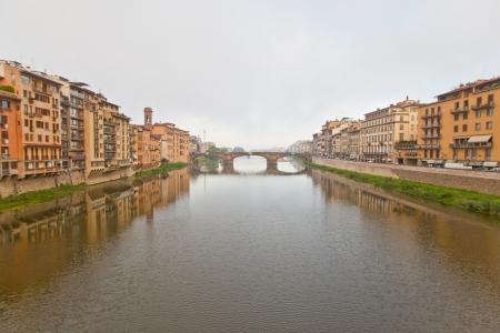 arno: Morning haze of the Arno river