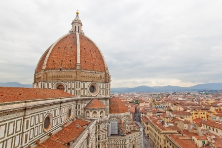 redbrick: Florence Duomo and the city