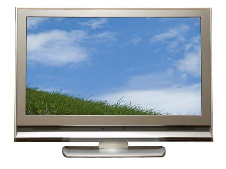 Terrestrial digital TV Stock Photo - 23279474