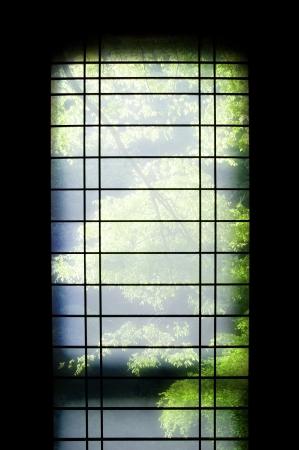 grates: Japanese-style Stock Photo