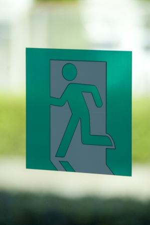 derivation: Emergency exit