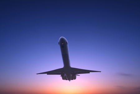 itinerant: Airliner Stock Photo