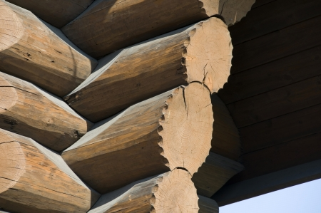 stowing: Log house