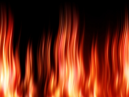 wavering: Fire Stock Photo