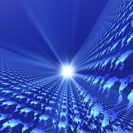 harmonizing: Future image Stock Photo