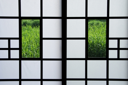 grates: Sliding door Stock Photo