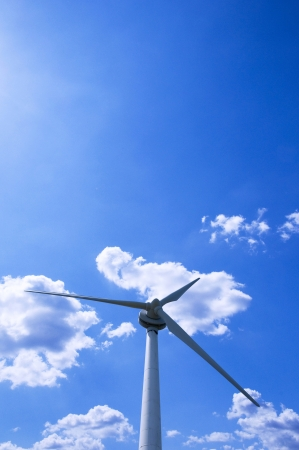 Wind-power generation photo
