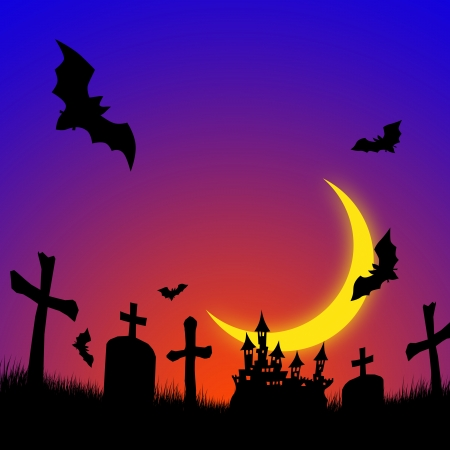 chateau: Halloween image