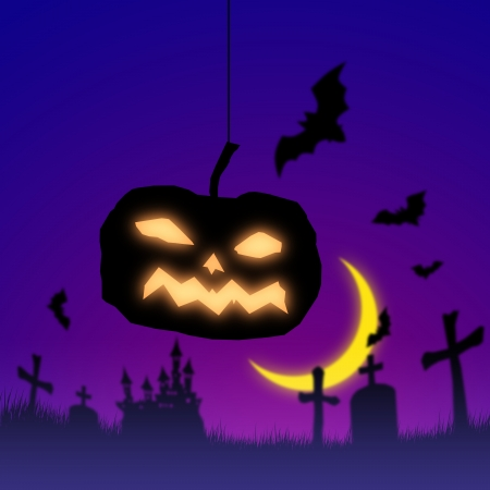chateau: Halloween Stock Photo