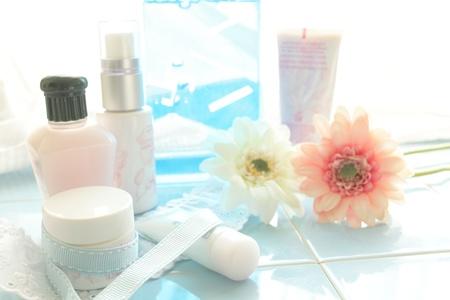 en suite: Basic cosmetics