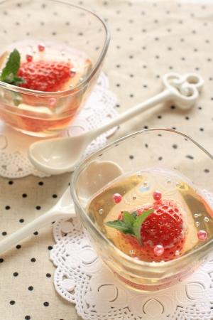 strawberry jelly: Strawberry jelly spring