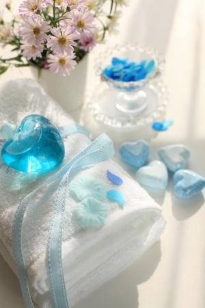en suite: Towels and bath products