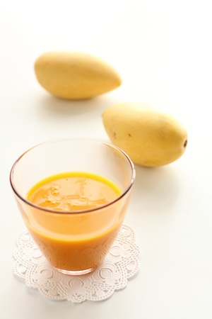 Mango juice photo