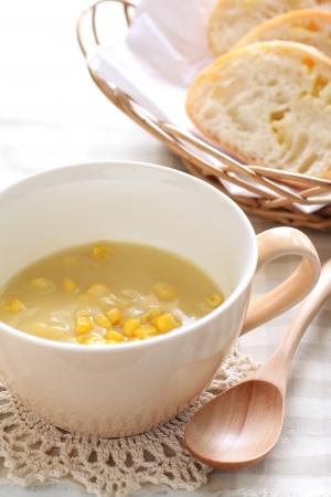 potage: Corn potage