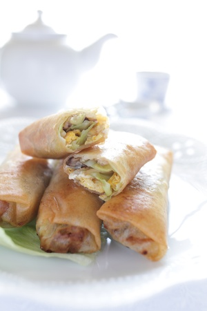 stowing: Spring roll