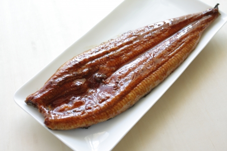 Broiled eel Stock Photo - 23587066