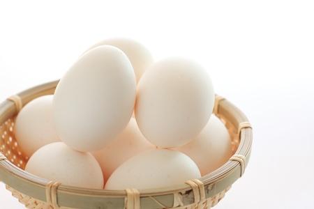 stowing: Fresh eggs Stock Photo