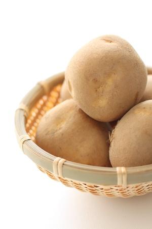 stowing: Potatoes of Hokkaido