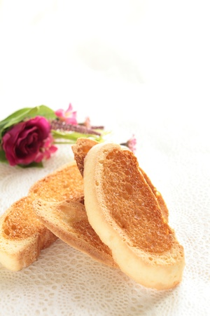 stowing: Rusk Stock Photo