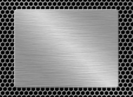 Metal plate Stock Photo - 23590481
