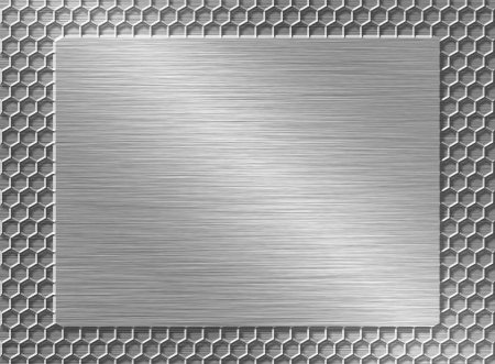 Metal plate Stock Photo - 23590482