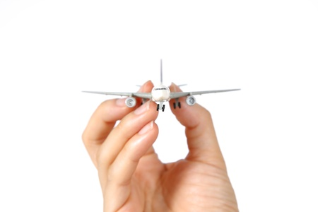 itinerant: I have a plane Stock Photo