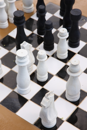 grates: Chess Stock Photo