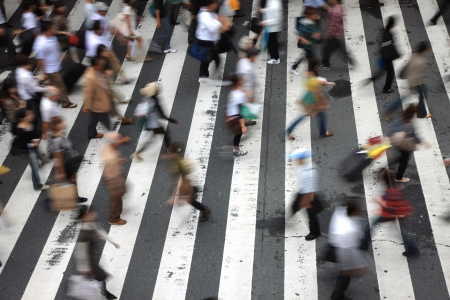 People who buy go crosswalk people