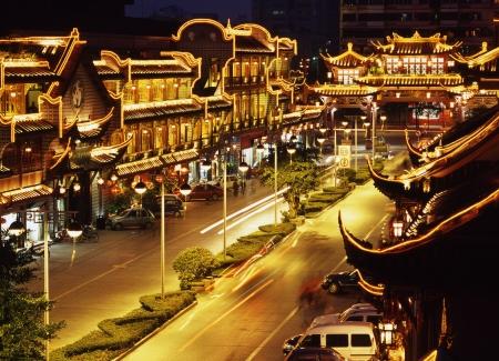 Chengdu Qintai Road Stock Photo