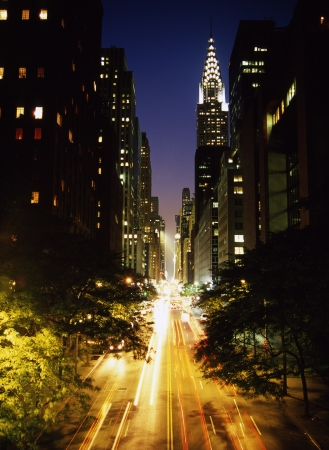 42nd: Night of 42nd street New York