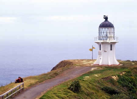 Lighthouse of Cape Reinga photo