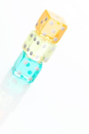 thorough: Transparent dice of thorough